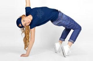Mädchen beim Hip Hop tanzen - im Tanzkurs
