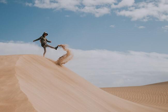 Wir stecken den Kopf nicht in den Sand! Wir tanzen weiter!